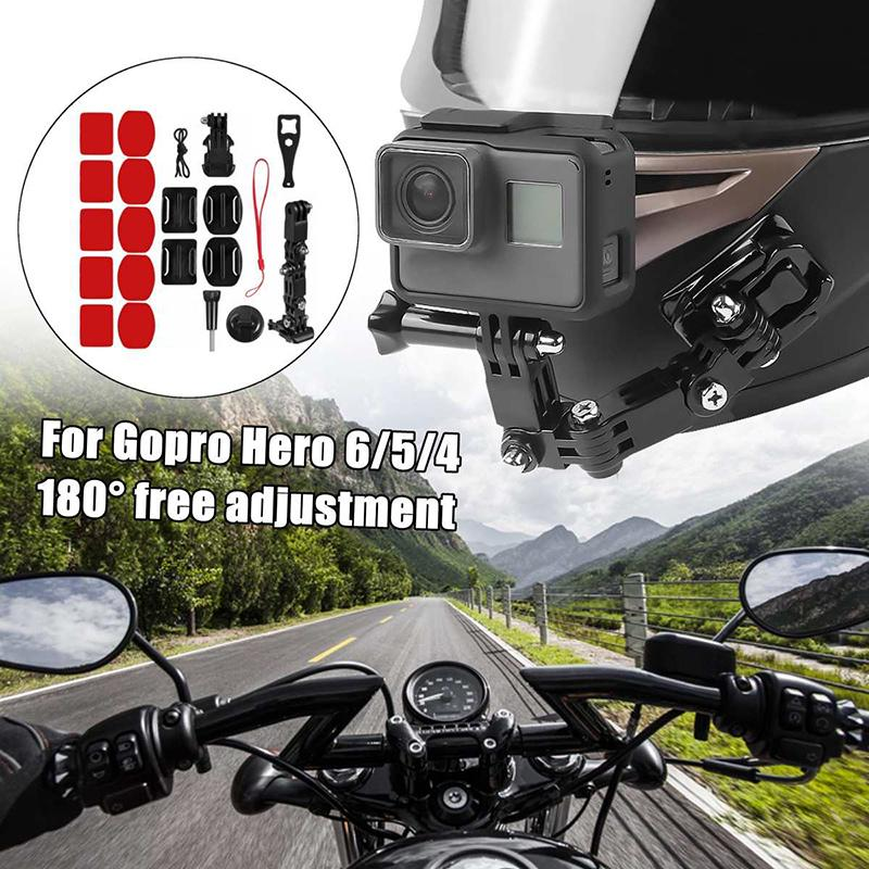 Soporte de Bicicleta Montaje del Manillar Adaptador De Trípode Para Go Pro Xiao Yi 4k Dlsr DS