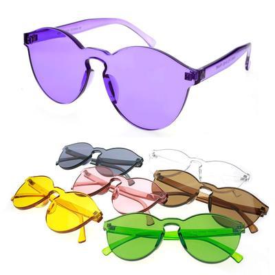 738dea20b77 Fashion Women Men Cat Eye Shades Sunglasses Eyewear Candy Color Sun ...