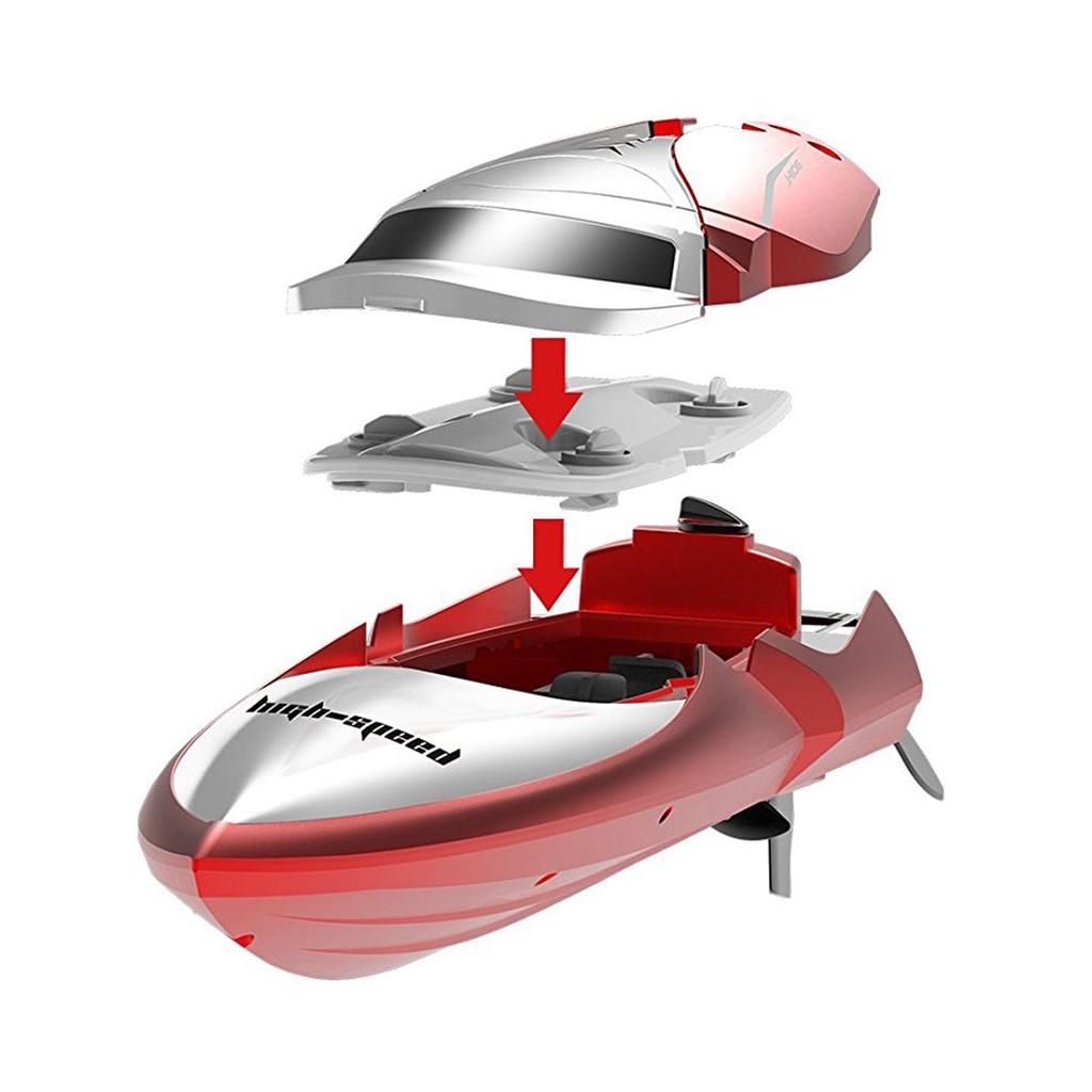 RC Boat H106 Radio Controlled Boat 2.4GHz 4CH High Speed Electric Racing Boat