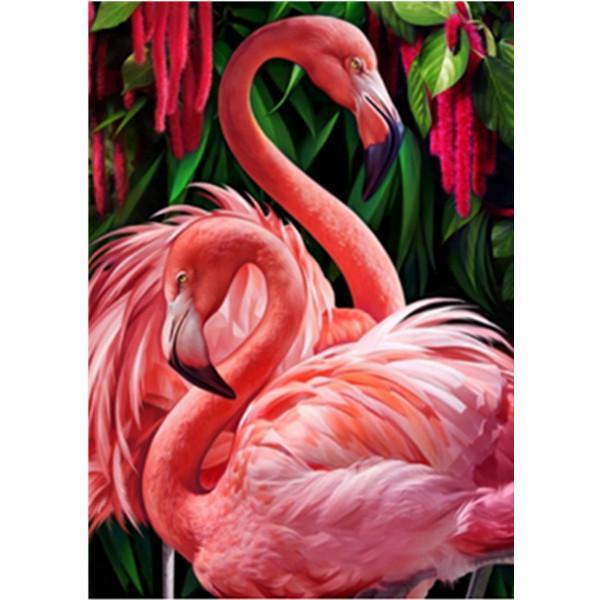 Pieno 5D Diy Discorso Vernice Pink Flamingo Ricamo Cross Stitch Home Decor regalo fatto a mano – acquistare a basso prezzo nel negozio online Joom