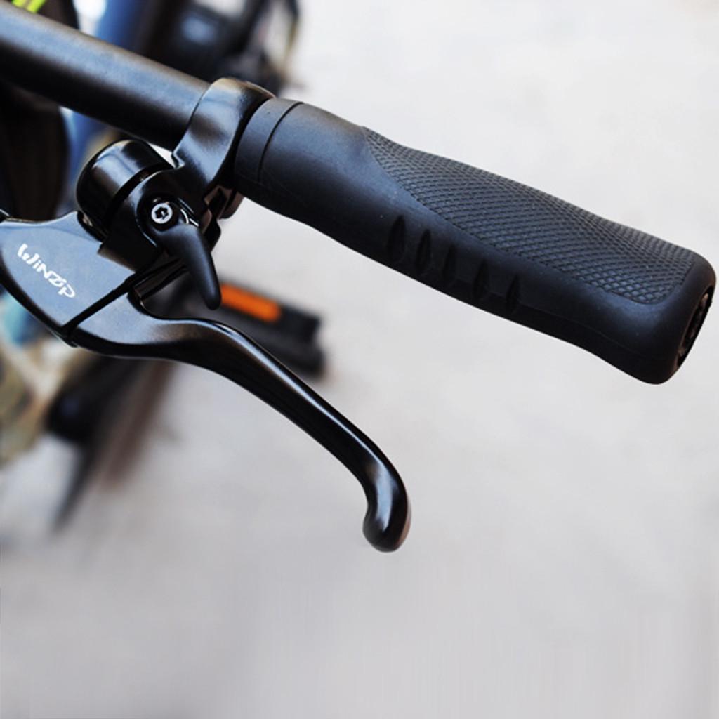 2Pairs MTB Bike Handlebar Grips Silicone Gel Lock on Anti slip Bicycle Grips