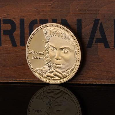The American Michael Jackson Gold Commemorative Coins Precious Collections  with Acrylic Coin Case 83e2d90c72d6