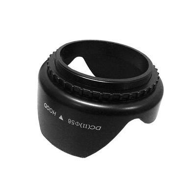 Mini 62mm Screw Mount Flower Crown Lens Hood Petal Shape For Canon Nikon Sony