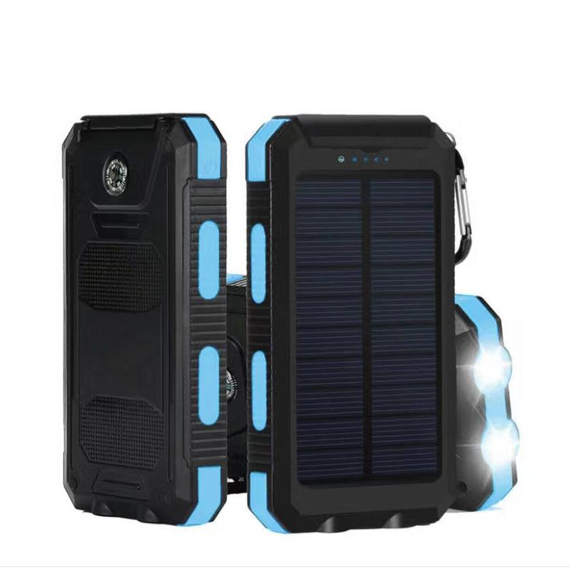 1pcs Diy Waterproof Dual Usb Mobile Phone Adapters No Battery Solar Led 50000mah Power Bank Charger Case Kit 14.9cm X 7.4cm X 1.8cm Cellphones & Telecommunications