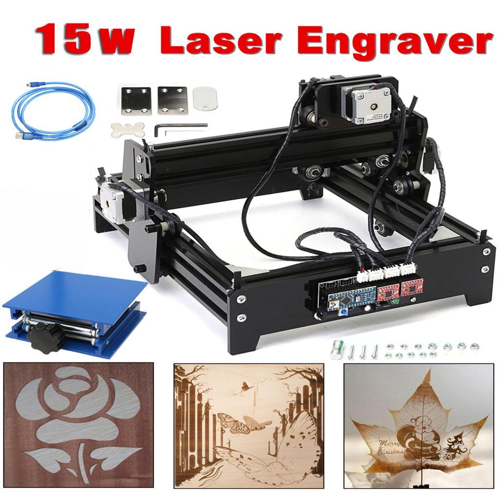 3500mw Desktop Lasergravierer Gravur Carving Maschine Mini DIY Logo Drucker