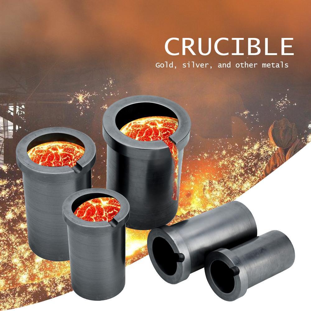1KG 1kg//2kg//3kg Graphite Crucible Metal Melting Gold Silver Scrap Furnace Casting Mould Melt Casting Graphite Crucible