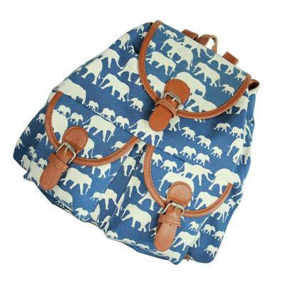 para mochila lienzo las Bolsos bolsa vintage mujeres escuela XzwT4