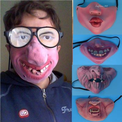 Halloween Silicone Pig Nose Mask Up Props Costume Party Coaplay Fun Decor US