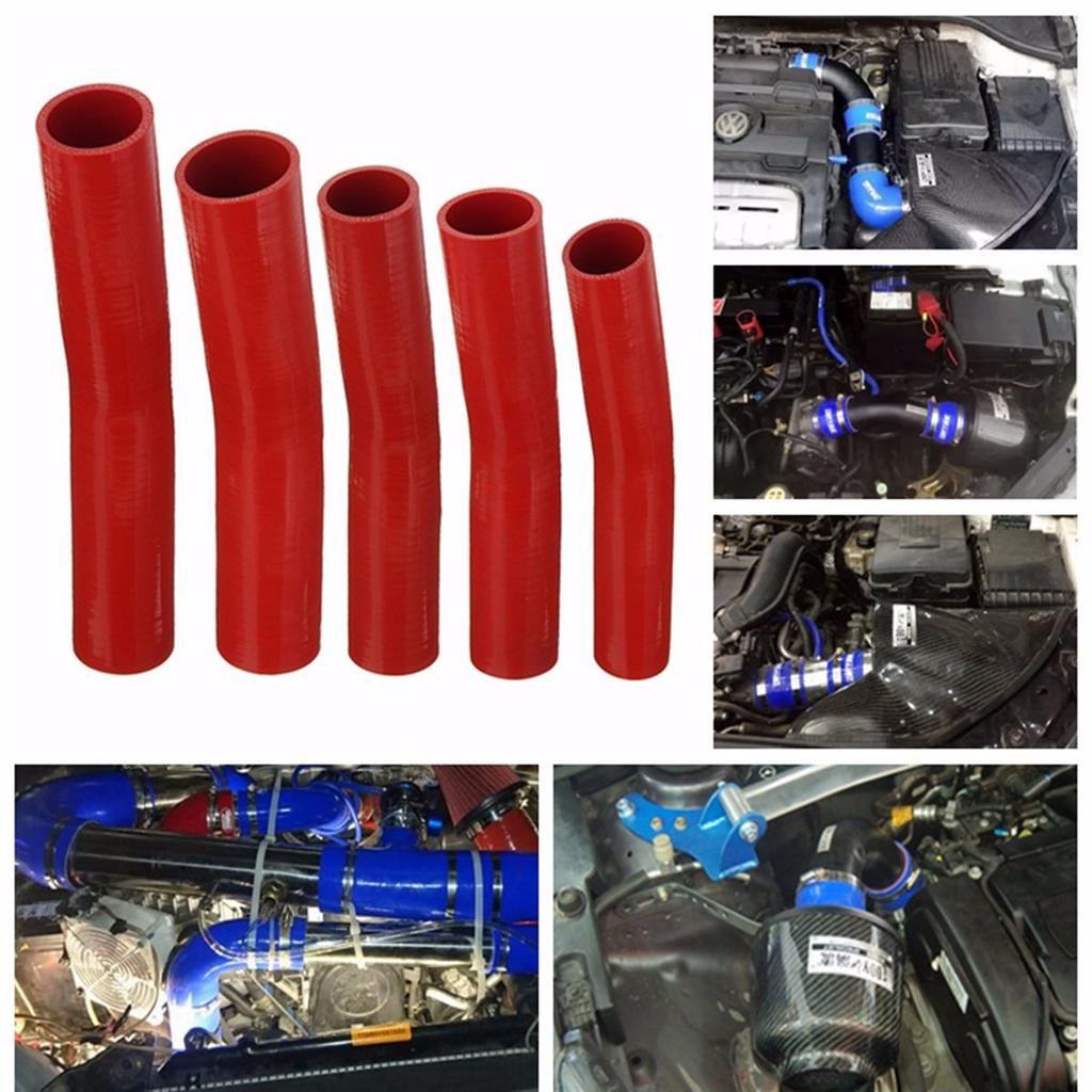 AutoSiliconeHoses 16mm ID Red 90 Degree Silicone Elbow Hose