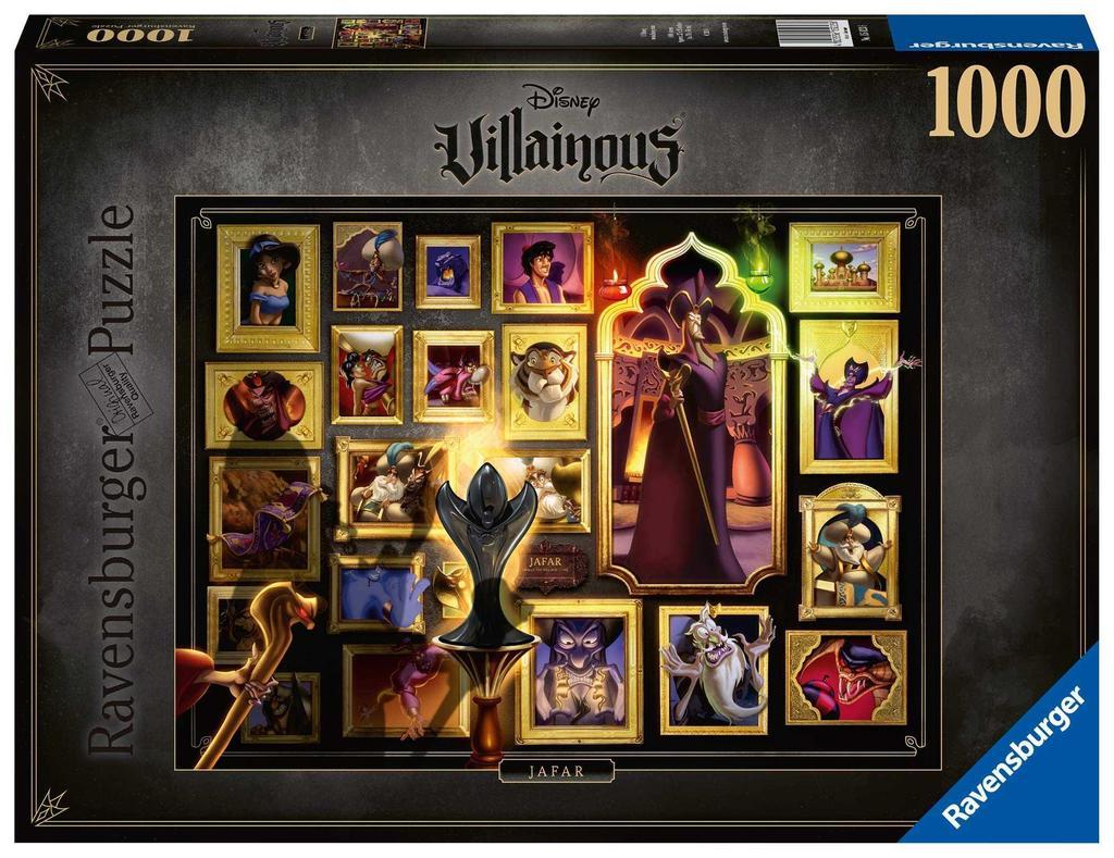 1000 Piece Ravensburger Jigsaw Puzzle Hades Disney Villainous
