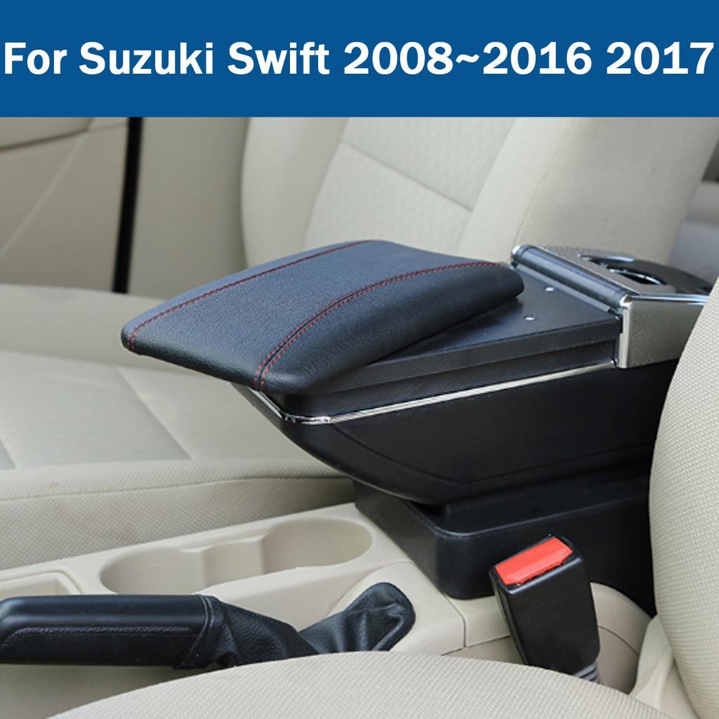 C Bracciolo universale per auto Veicolo regolabile in altezza centrale Gomito Comfort Pad Car Center Console Organizer Bracciolo Contenitore contenitore