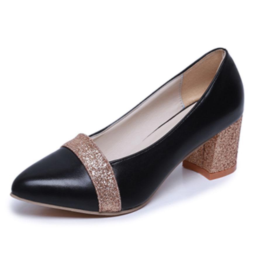 Элегантная леди цвет сплайсинга Bling скольжения на высоких каблуках сексуальные заглянуть ног партии одного обувь – купить по низким ценам в интернет-магазине Joom