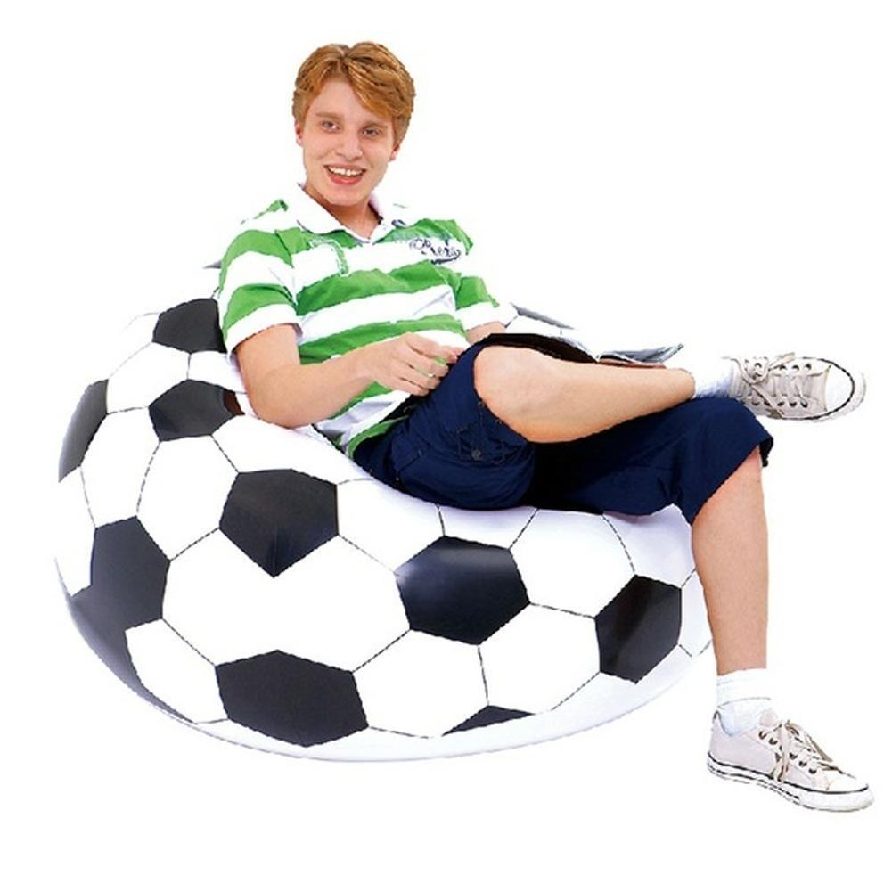 Simple Inflatable Sofa Chair Couch Bean Bag Basketball Football Soccer Ball Seat Hot At A Low Prices On Joom E Commerce Platform