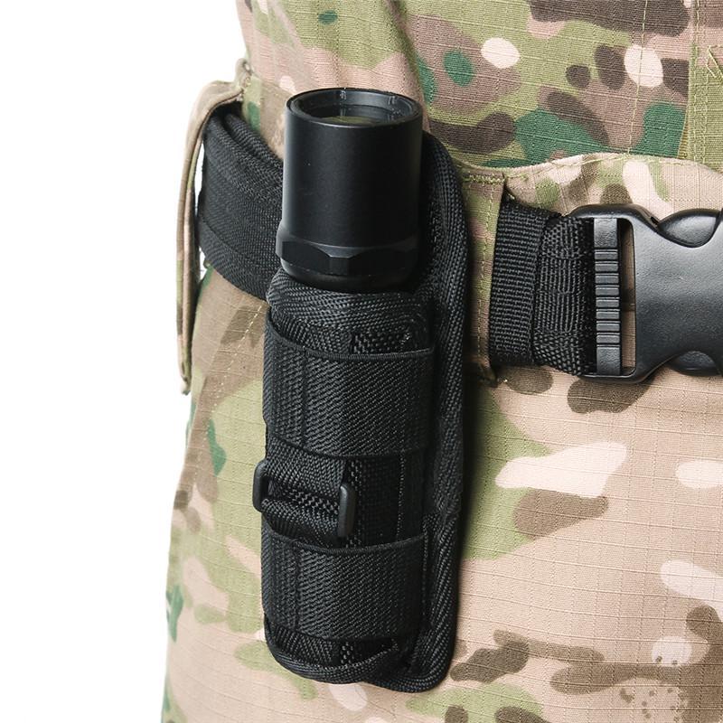 360 Degrees Rotatable Flashlight Pouch//Holster for Surefire G2 6P E2L FENIX UC30