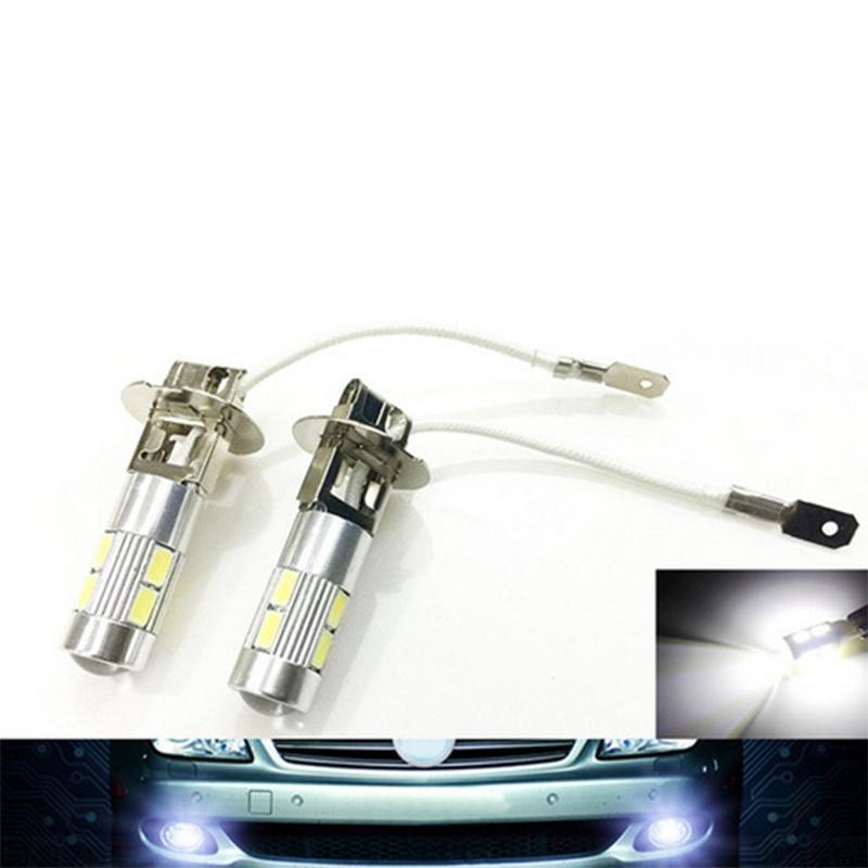 1шт автомобилей H3 5630 SMD LED светодиодные лампы свет автомобиля источника света лампы авто парковка фото