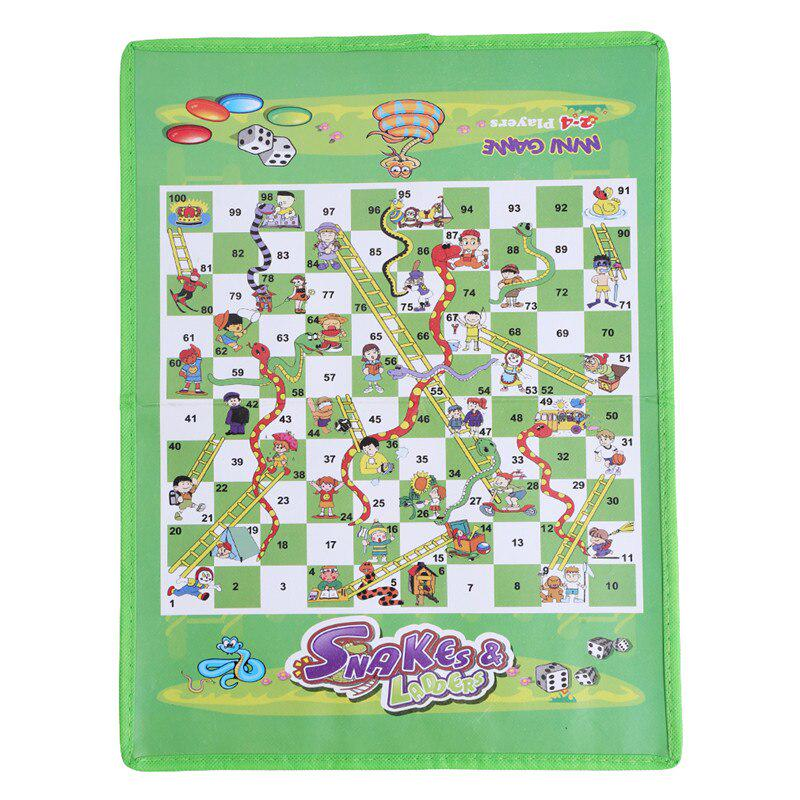 6 in 1 Family Board Game Kid Toy Chess Snakes /& Ladders Memory Travel Party Game