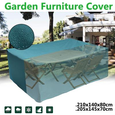 3 Size Waterproof Furniture cover  Heavy Duty for Rattan Cube Outdoor Garden