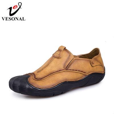 00462d43d Бренд случайные взрослых мужчин бездельников обувь Обувь качества Ons лодка  мягкой вождения Microfiber кожи человека