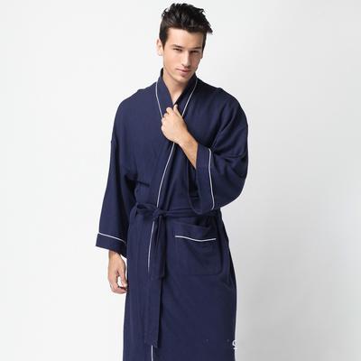 e9f6d29c Pijamas hombre mujer primavera y el otoño fina tela de toalla baño bata  toalla albornoz camisón