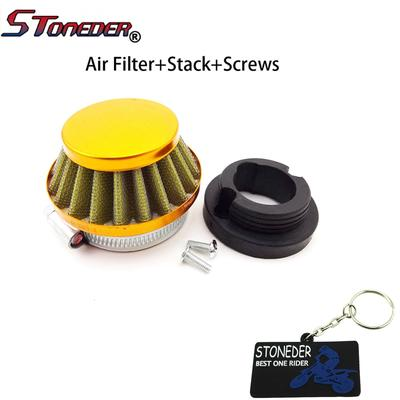 STONEDER 44mm Air Filter Stack Adapter For 47cc 49cc Engine Carburetor Mini  Moto Kids ATV Dirt