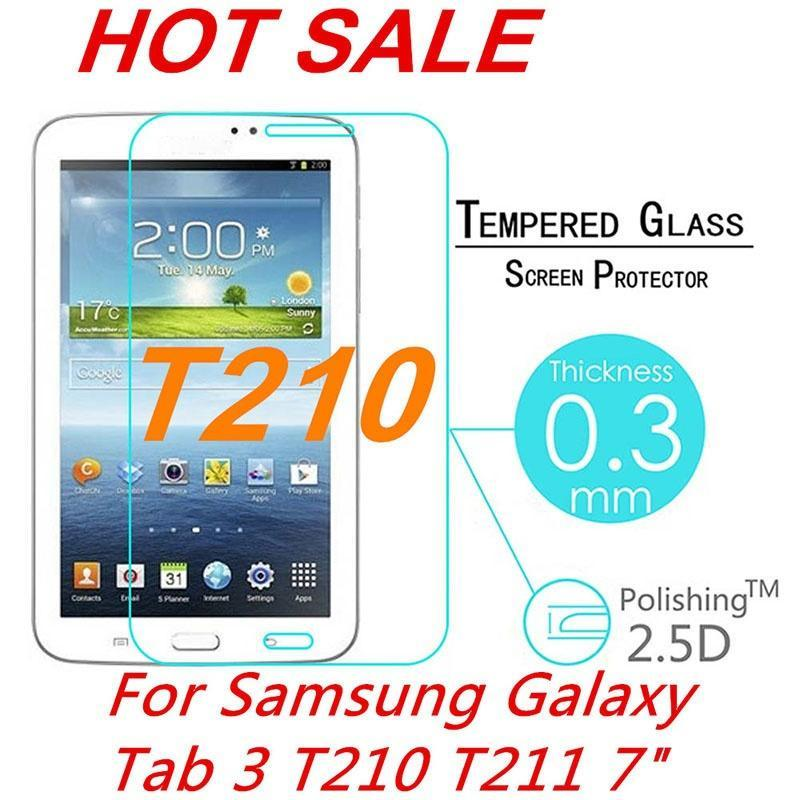 Tempered Glass Screen Protector for Samsung Tablet Tab 3 7.0/T210/T211/P3200