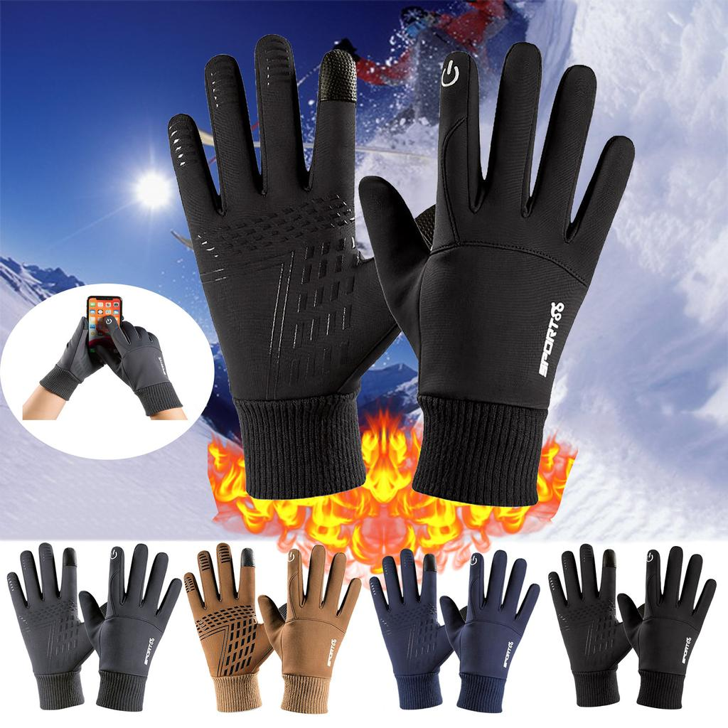 Details about  /Gloves Outdoor Sport Riding Warm Motorcycle Skiing Winter Velvet Touch Screen
