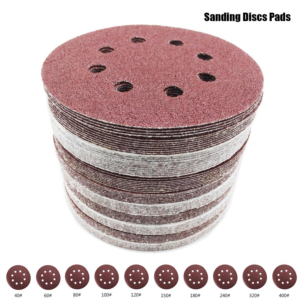 Hook and Loop 40 60 80 100 120 150 180 240... GeMoor 80PCS Sanding Discs Pads