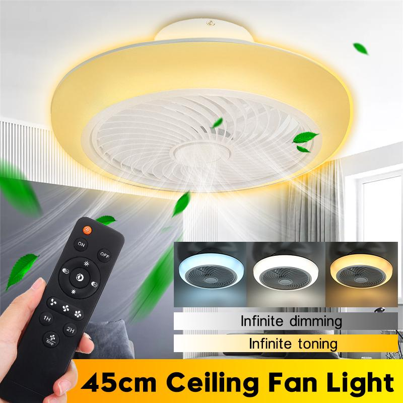 Buy Modern Ceiling Fan Lights Remote Control Ceiling Fans Lam For Dining Room Bedroom 110v 220v Multifunction Led Lighting At Affordable Prices Free Shipping Real Reviews With Photos Joom