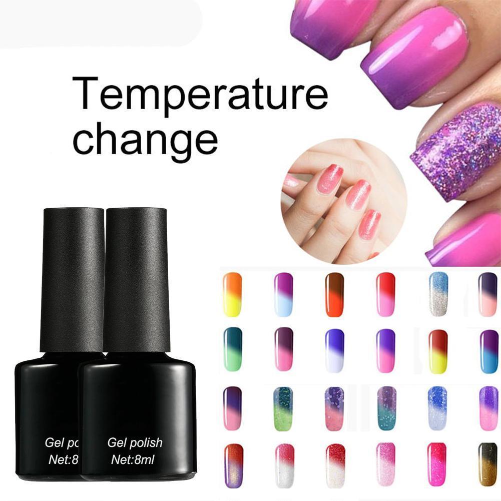 Vistoso Temperatura Goma Laca Cambiar Esmalte De Uñas Regalo - Ideas ...