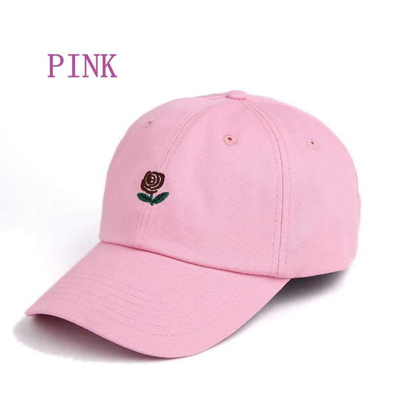 The Hundreds Rose Embroidered Hat Baseball Cap Fashion 2019 Unique Adjustable Embroidered Rose Casual Hats