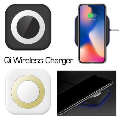 f7ee2671532 5W QI Wireless cargador rápido carga cojín de soporte para iPhone X, 8/8