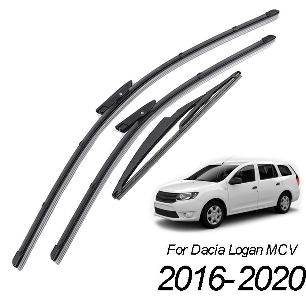 """Dacia Logan MCV II 2015-Present Front Wiper Blades Set 22/"""" /& 19/"""" #2"""