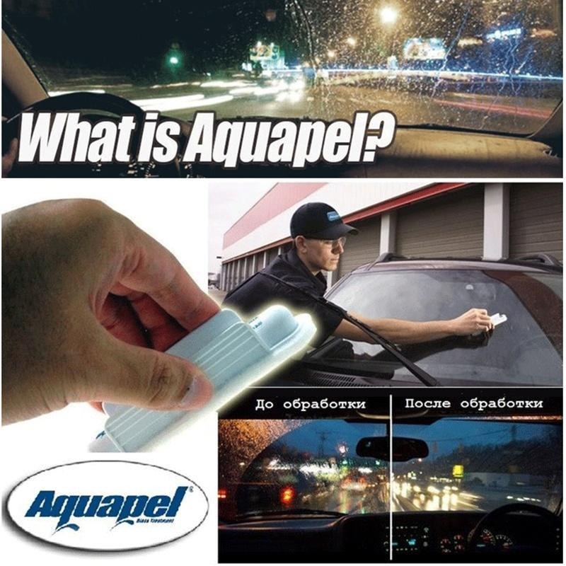 Aquapel Invisible Wipers For Carwindowglasses Cleaning Brushes