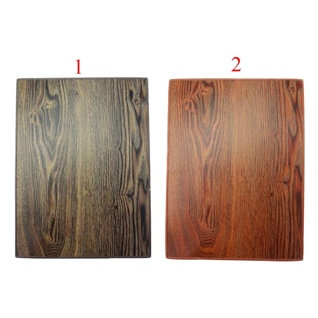 Crafts 2 mm Thick Unfinished Blank Rectangle Solid Wood Pieces for DIY Arts