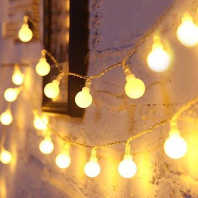 G40 Globe Fairy String Lights 10.65M 25Bulbs Party Garden Garland Hanging Lamps