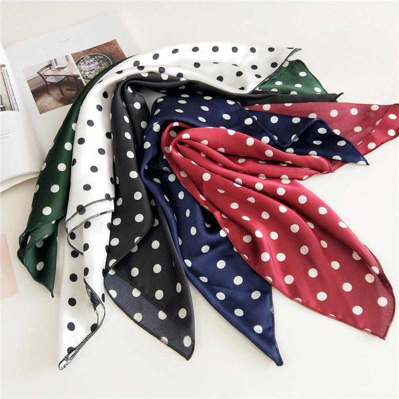 Мода женщин квадратных Шёлковый шарф ретро голова шеи волосы галстук полосы галстук фото