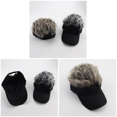 d189601926a67c entertainment Pcs Spiked 1 Visor Hair Warm Baseball Hat Sun Winter Wig Cap  Caps with Outdoor