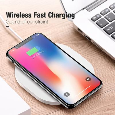 Qi Wireless Charger For iPhone S8 10 8 Plus Samsung X S7