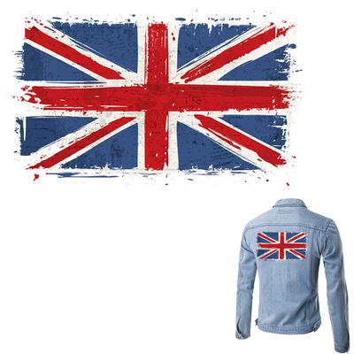Colife UK Flag Patches For Clothes T-shirt Dresses DIY Accessory Appliques Easy Print By Household