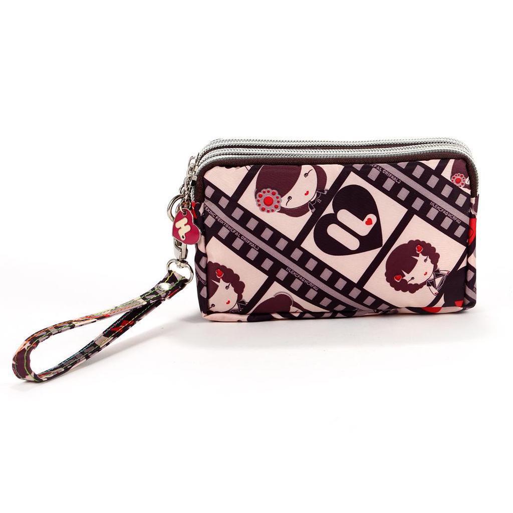 Women/'s Sweet Sac Forme CACTUS en cuir portefeuille porte-monnaie Fermeture Éclair Sac Argent
