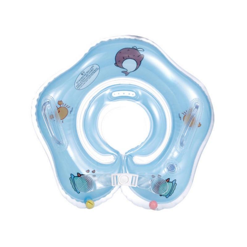 Baby-Kids Schwimmen Hals Float Ring Bad Sicherheit Schwimmring AufblasbarerKreis