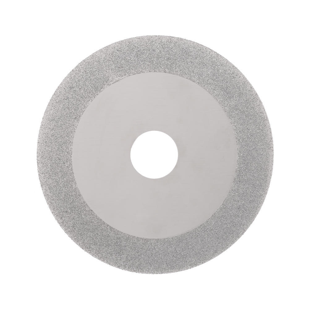 """4/"""" Diamond Cutting Wheels  Grinding Disc for Stone 120 Grits Silver Tone 2pcs"""