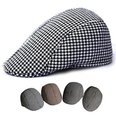 80bc593933a Men Women Newsboy Beret Cabbie Gatsby Peaked Baker Flat Hat Golf Driving  Sun Cap