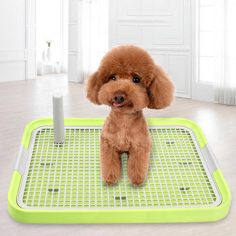 Portable Pet Toilet Plastic Urinary Pee Pad with Pillar Mat Training Potty  Dog Pad Tray-buy at a low prices on Joom e-commerce platform