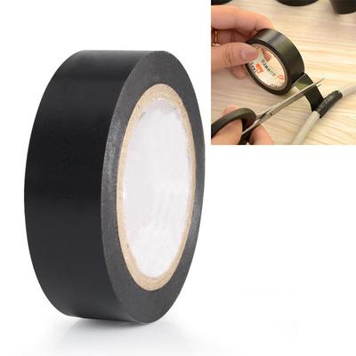 1 Rolls 30FT Purpose 6 5Inch Vinyl PVC Black Insulated