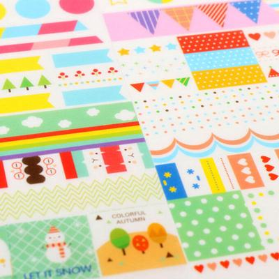 Animals Stickers Craft Scrapbooking Diary Book Planner Decal Paper Stickers S