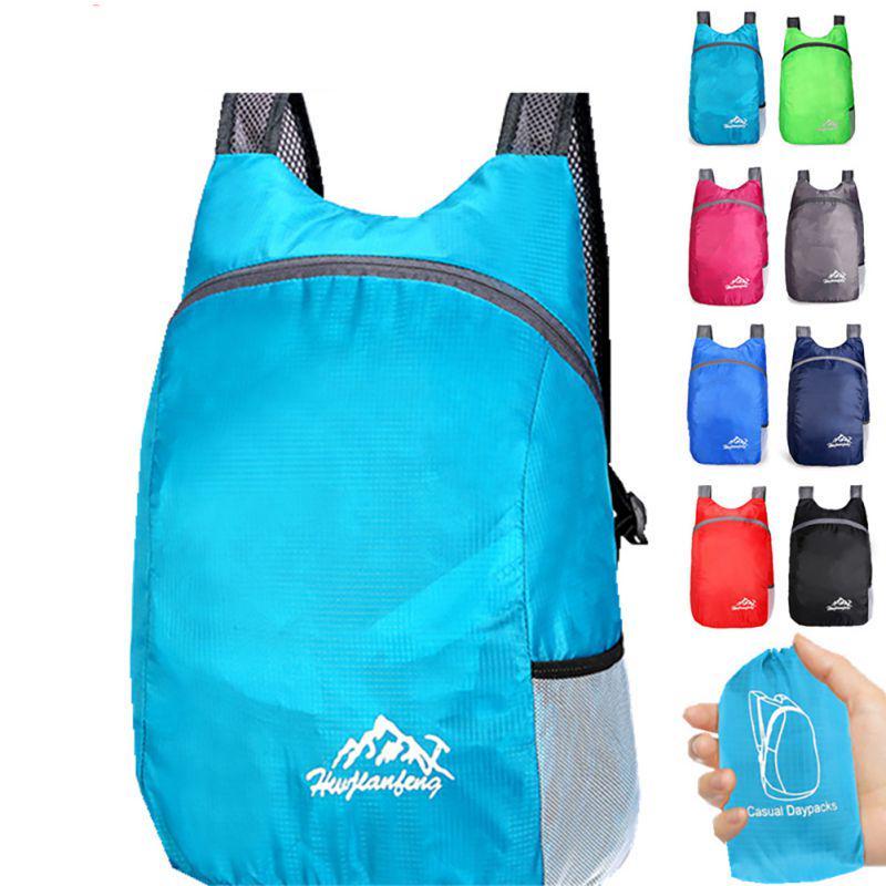 Ультра Легкий водонепроницаемый Путешествия Альпинизм Protable сумка Популярный складной рюкзак Открытый Кемпинг Езда Рюкзак Unisex купить недорого — выгодные цены, бесплатная доставка, реальные отзывы с фото — Joom