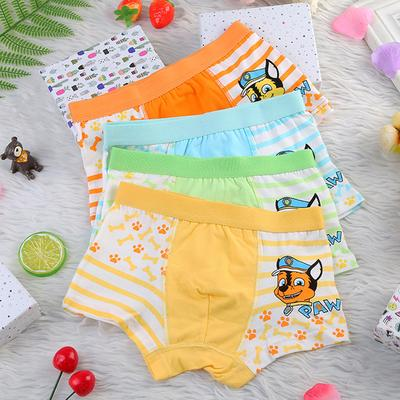 4pcs Infant Boys children cartoon Underwear Children 100/%Cotton Boxer Shorts