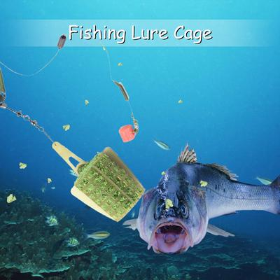 Fishing Feeders Lure Trap Baits Cage Lead Sinker Trap Carp Tackle 30g//40g//50g