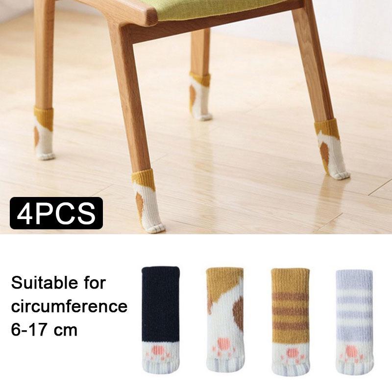 Stuhl Leg Tuch Boden Schutz Socken Anti Rutsch Tische Möbel Feet Sleeve Cover Cat Feet